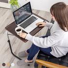 テーブル 折りたたみ 一人用 高さ調節 天板角度調節 折り畳み サイドテーブル for the LIFE 角度調節付き折りたたみテーブル