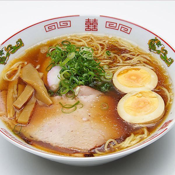 【ポイント交換】築地の懐かし 生中華そば 2食分 醤油スープ・味噌スープ 各1食 (麺90g+スープ)x2