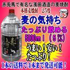 本格麦焼酎25度 麦の気持ち 5000ml(5L)1本【同梱発送可能は4本まで】赤兎馬の浜田酒造