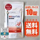 【10錠入り】薬用ホットタブ 重炭酸湯 Hot Tab 入浴剤 お試しサイズ ネコポス送料無料