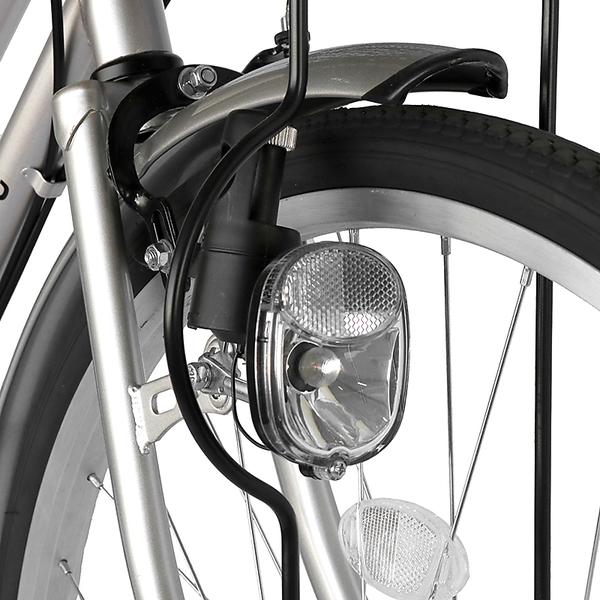自転車 ママチャリ 軽快車 26インチ 外装6段ギア サントラスト SUNTRUST 自転車 シルバー 銀 かわいいママチャリ 自転車 dixhuit  ディズウィット  ギア付きで使いやすいママチャリ 自転車