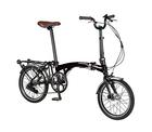 自転車 配送先一都三県一部地域限定送料無料 電動アシスト自転車 折りたたみ ハリークイン HARRY QUINN PORTABLE E-BIKE AL-FDB160E ブラック 16インチ コンパクト 持ち運び可能