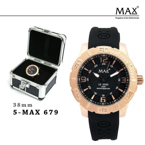 MAX XL WATCHES マックス メンズ レディース 腕時計 シリコン ラバー バンド スポーツ 679 680 681 701 オランダ ヨーロッパ EU 大きい 2年保証書