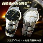 \ダイヤモンド使用/ ブリリアンカット高級腕時計■Herrlich 【送料無料】 メンズ カレンダー付き 3気圧防水 ムーブメント ダイヤモンド おしゃれ 高級 プレゼント 腕時計 時計