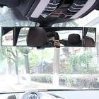 【送料無料】広範囲死角バックミラー 360度 可動式 サイドミラー付き 鏡面ミラー 死角 カバー 補助ミラー