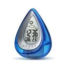 【送料無料】水で発電する時計 電源不要 便利 災害 防災 通販