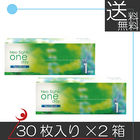 【送料無料】ネオサイトワンデーアクアモイスト(30枚入) ×2箱 コンタクトレンズ