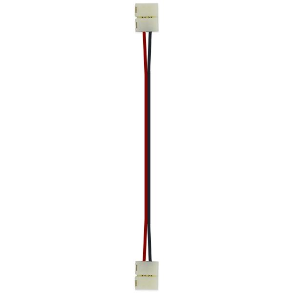 LEDテープ用 延長用コネクタ 2個セット 12V 3528SMD用 延長 19cm/コネクタ/コネクター/3528/SMD はんだ付け不要! テープLED SDM便送料無料 1ヶ月保証 K&M