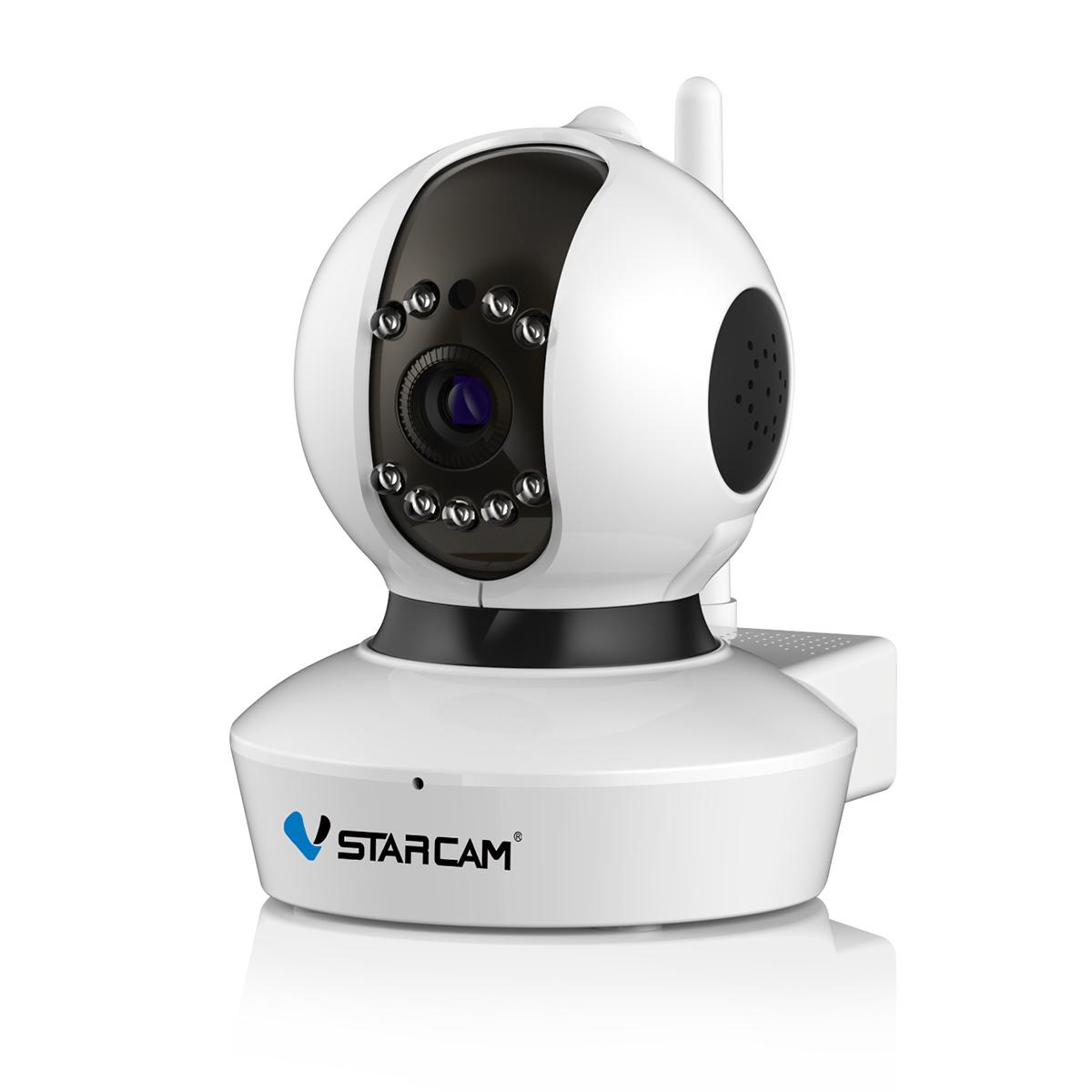 防犯カメラ ワイヤレス C7823WIP SDカード128GB同梱モデル Vstarcam 100万画素 ONVIF対応 クラシックモデル ベビー ペットモニター 無線 WIFI MicroSDカード録画 屋内用 監視 ネットワーク IP WEB カメラ 宅配便送料無料 PSE 技適 6ヶ月保証