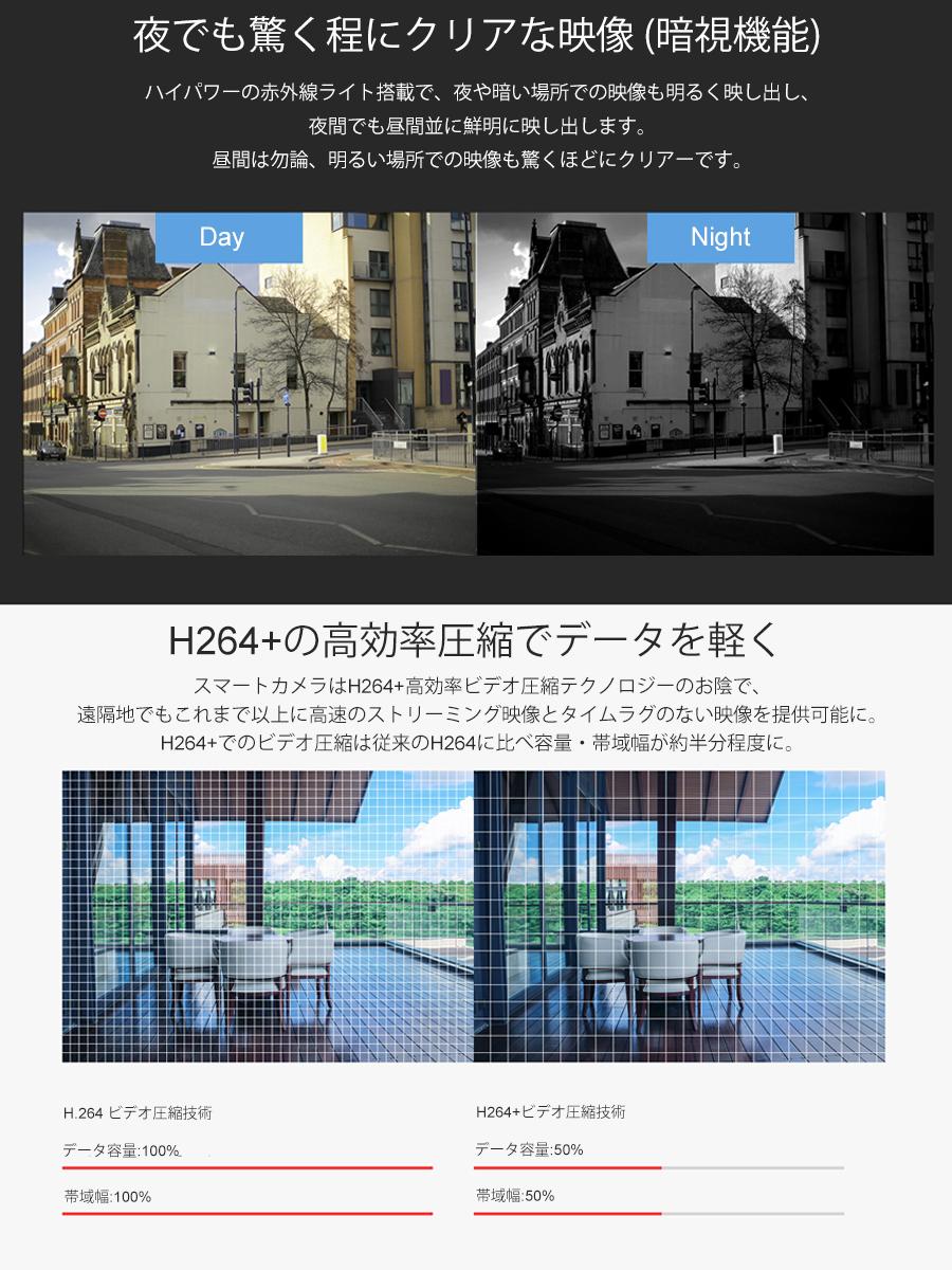 防犯カメラ 2K 1080P 200万画素 C63S 魚眼レンズ ネットワークカメラ ペット ベビー WIFI ワイヤレス 屋外 屋内 MicroSDカード録画 監視 IP WEB カメラ 動体検知 VStarcam 宅配便送料無料 PSE 技適 6ヶ月保証 K&M