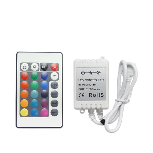 LEDテープ RGB専用 コントローラ リモコン 12V テープLED SDM便送料無料 1ヶ月保証 K&M