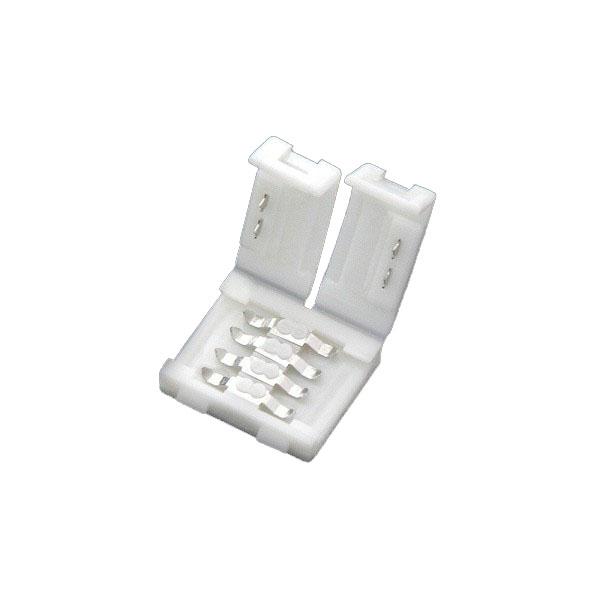 LEDテープ用 5050SMD RGB対応 2個セット 幅10mm用 連結用コネクタ 12V 連結 コネクタ/コネクター/ はんだ付け不要! テープLED SDM便送料無料 1ヶ月保証 K&M