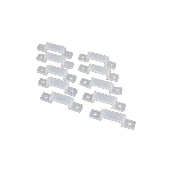 LEDテープ用 サドル 固定クリップ 留め具 20個セット テープLED SDM便送料無料 1ヶ月保証 K&M