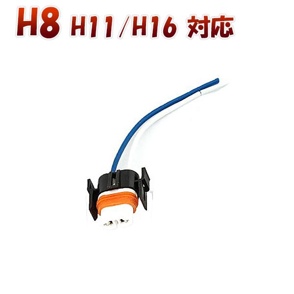 H8 H9 H11 H16 対応 ソケット 2個セット メスソケット メスカプラ 台座 汎用ソケット 色々使える 電装系 SDM便送料無料 1ヶ月保証 K&M