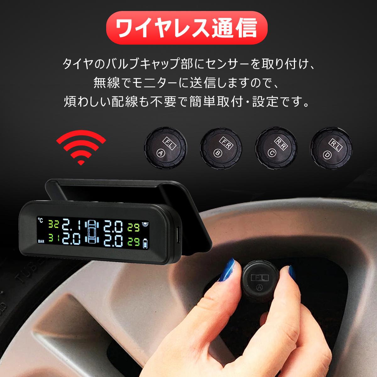 タイヤ空気圧モニター