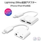 iPhone イヤホン 変換アダプタ イヤホンジャック 3.5mm充電しながら通話 音楽 同時 最新iOS対応 拡張アダプター 急速充電 アイフォン リモコン使用 SDM便送料無料 1ヶ月保証