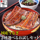 2種選べるお試しセット 国産 うなぎ 蒲焼き 鰻 鰻の蒲焼き 人気 売れ筋 おすすめ 川水