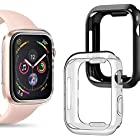 コンパチブル Apple watch ケース40mmアップルウォッチ ケース、カバー 柔らかい落下防止 保護ケース iwatch 40mm ケースTPU Apple Watch Series 6/5/4カバー アップルウォッチシリーズ 4/5/6