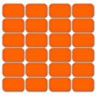 [24枚セット シックスパッド アブズフィット 対応 互換品 ジェルシート ジェルパッド ジェル 日本製ジェル]腹筋 シックスパット アブズベルト にも対応 互換 高電導 ジェルシート ジェルパッド 非純正品