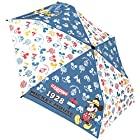ジェイズプランニング 折畳傘 ミッキー&フレンズ アウトドア ブルー 53cm 90294