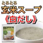 【ポイント消化】【お試し】とろとろ玄米スープ 白だし30g【送料無料】