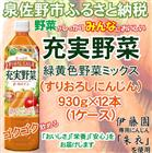 A272 【ふるさと納税】 充実野菜緑黄色の野菜ミックスPET930g 野菜ジュース