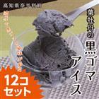 【ふるさと納税】ot007 葉牡丹の黒ゴマアイス12個セット