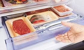 チルドや冷蔵室より低温で保存