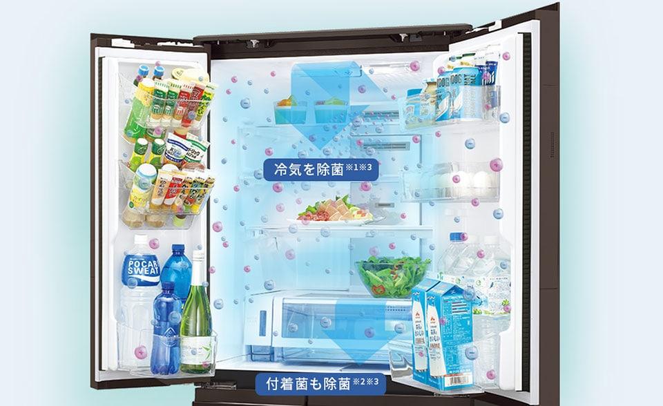 プラズマクラスター冷蔵室