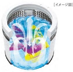 3Dパワフル洗浄イメージ図