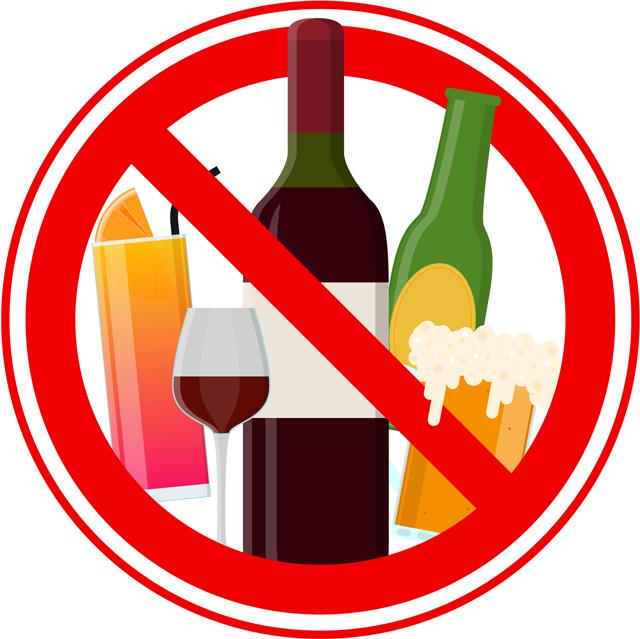 アルコールは水分補給にはならない