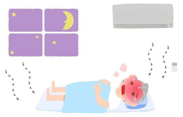 夜間熱中症