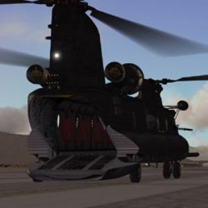 Area 51 Simulations MH-47 Chinook
