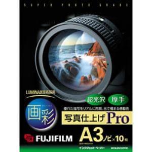FUJI  FILM 画彩 写真仕上げPro(A3ノビサイズ・10枚) WPA3N10PRO