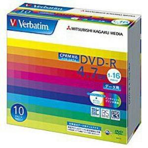 三菱ケミカルメディア DHR47JDP10V1 DVDメディア