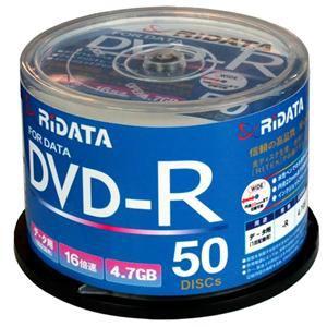 RiDATA DVD-R 16倍速 50枚組 D-R16X47G.PW50SP B