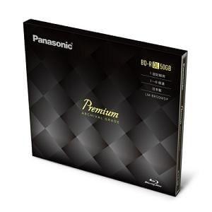 Panasonic Blu-rayプレミアムディスク (R6X)50GB LM-BR50MDP
