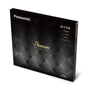 Panasonic Blu-rayプレミアムディスク (R6X)25GB LM-BR25MDP
