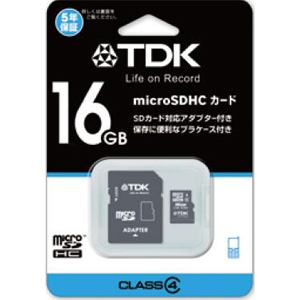 TDK MICRO SDHC16GB TMCSDHC16GB4
