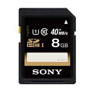 SONY 8GB・UHS Speed Class1(Class10)対応SDHCカード SF-8UY