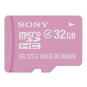 SONY microSDHCメモリーカード 32GB Class4 SR-32A4-P