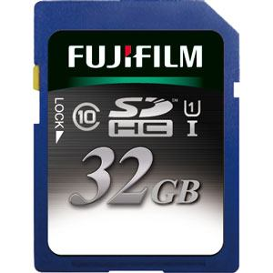 FIJI FILM SDカード SDHC-032G-C10U1