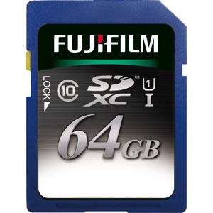 FIJI FILM SDカード SDXC-064G-C10U1