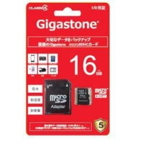 キングストンテクノロジー GJM4/16G MicroSD16GB class4 アダプター付き