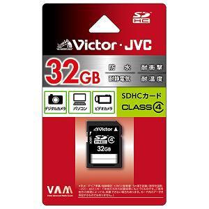 JVC SDカード 32GB クラス V-SD32CL4