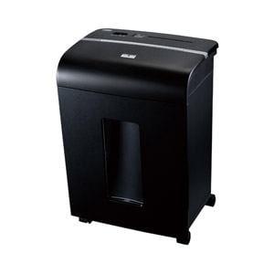 ナカバヤシ パーソナルシュレッダ403 A4 10枚 CDDVD切断対応(ブラック) NSE-403BK