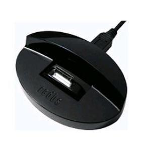 ラディウス WM-DKF11K ウォークマン専用スタンド型充電器(ブラック)