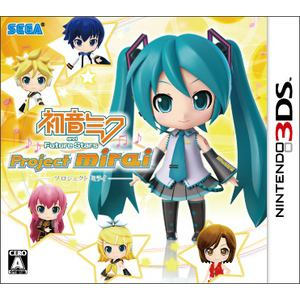 初音ミク and Future Stars Project mirai CTR-P-AM9J ハツネミク AND FU