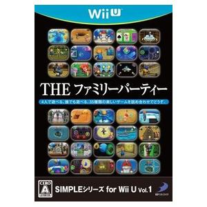 D3パブリッシャー Simpleシリーズ For Wii U Vol.1 The ファミリーパーティ WUP-P-AFPJ