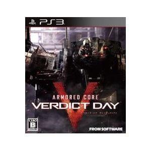 フロム・ソフトウェア ARMORED CORE VERDICT DAY BLJM-61014